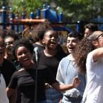 Youth performing at an Inquilinos Boricuas en Acción (IBA) event.