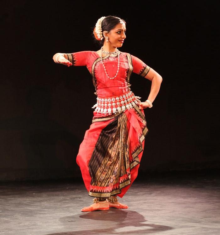 Odissi dancer Priya Bangal, photo by Andrew Milia