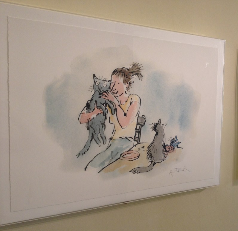 Work from Ordinary life in Vincent Square © Quentin Blake