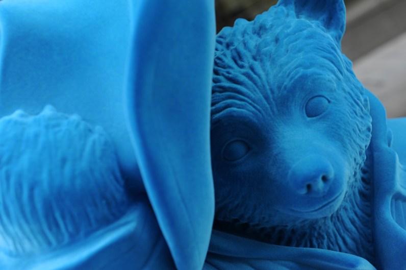 Blue Bear © The Paddington Partnership