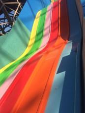 Born Slippy - Dreamland's multi coloured multi speed slide