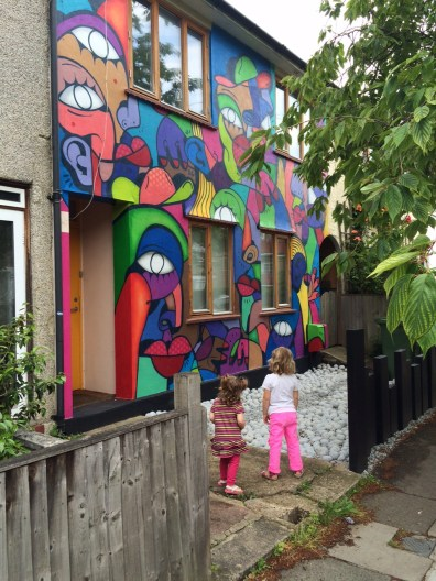 Hunto house Brockley Street Art Festival
