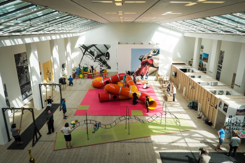 The Playground Project at the BALTIC Centre For Contemporary Art, Gateshead On Tyne Photo© Mark Pinder