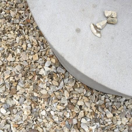 Serpentine Pavilion by Francis Kéré stones in central courtyard © Phillipa Ellis Arts Aloud
