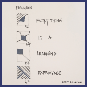 Everything is a learning experience - Fragments