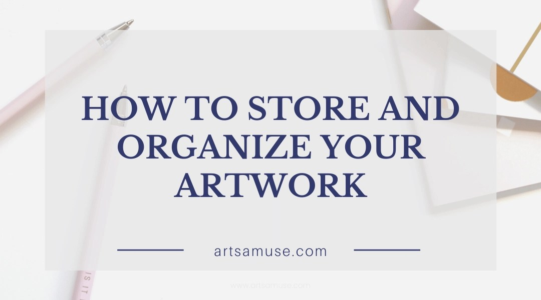 How to organize and store your Zentangle® artwork