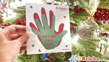 Holiday Kid Handprint Craft and Keepsake Gift Idea