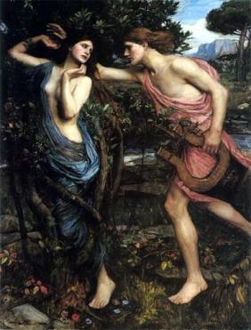 John William Waterhouse, Apollon et Daphné (1908)