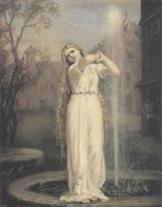 John William Waterhouse, Ondine (1872)