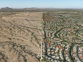 Edward Burtynsky, Control, 2011. Phoenix Suburb