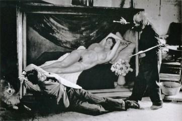 Brassaï, Jean Marais posant pour Picasso
