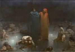 Gustave Doré, Dante et Virgile dans le neuvième cercle de l'Enfer