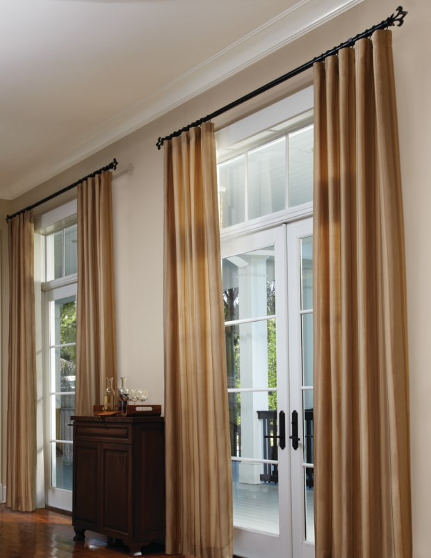 hanging curtains drapery 1900 1939