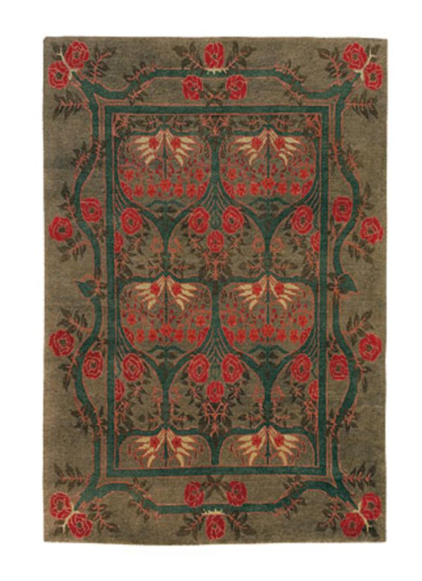 Arts & Crafts Revival Textiles Curtains Carpets
