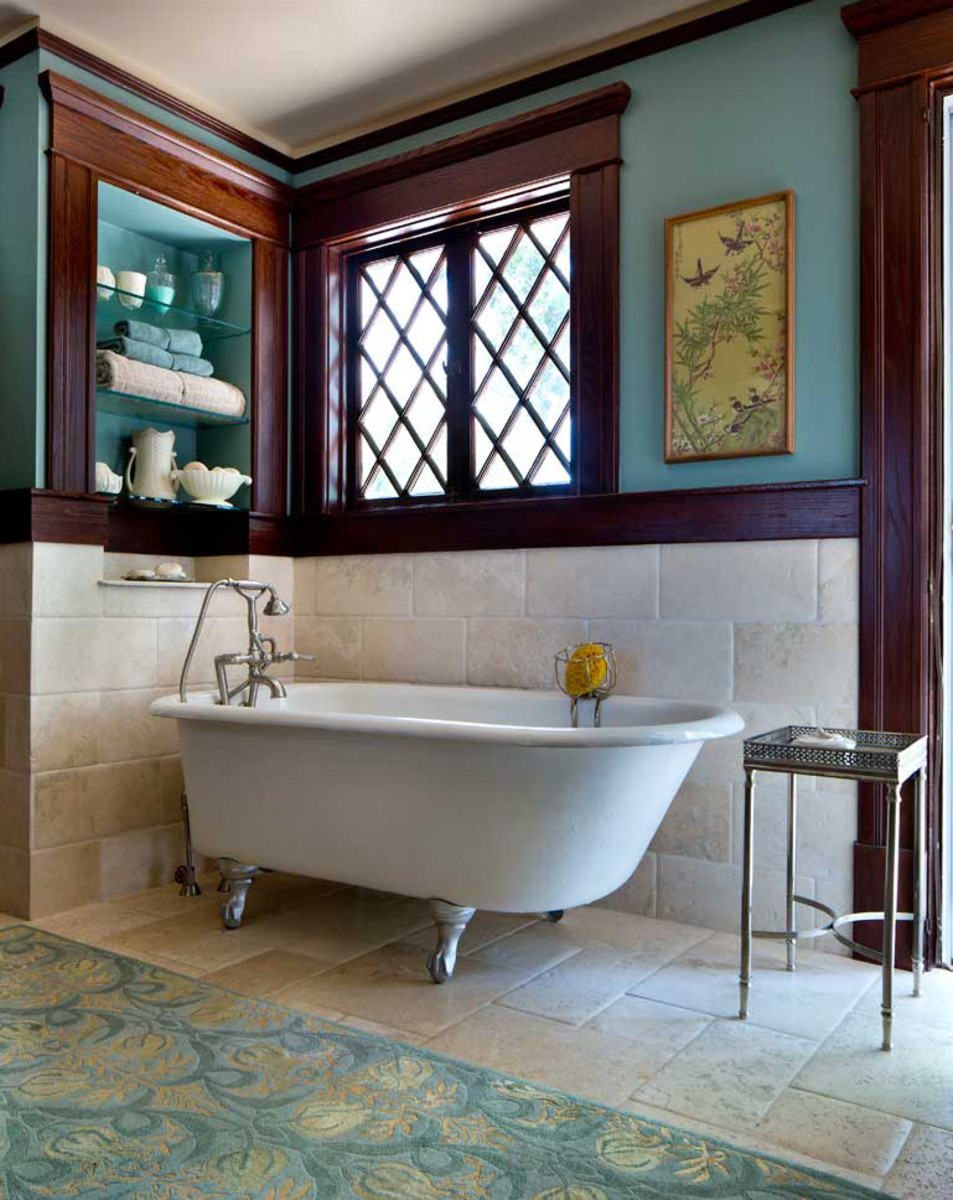 Adding Baths To An Old House Design For The Arts Amp Crafts House Arts Amp Crafts Homes Online