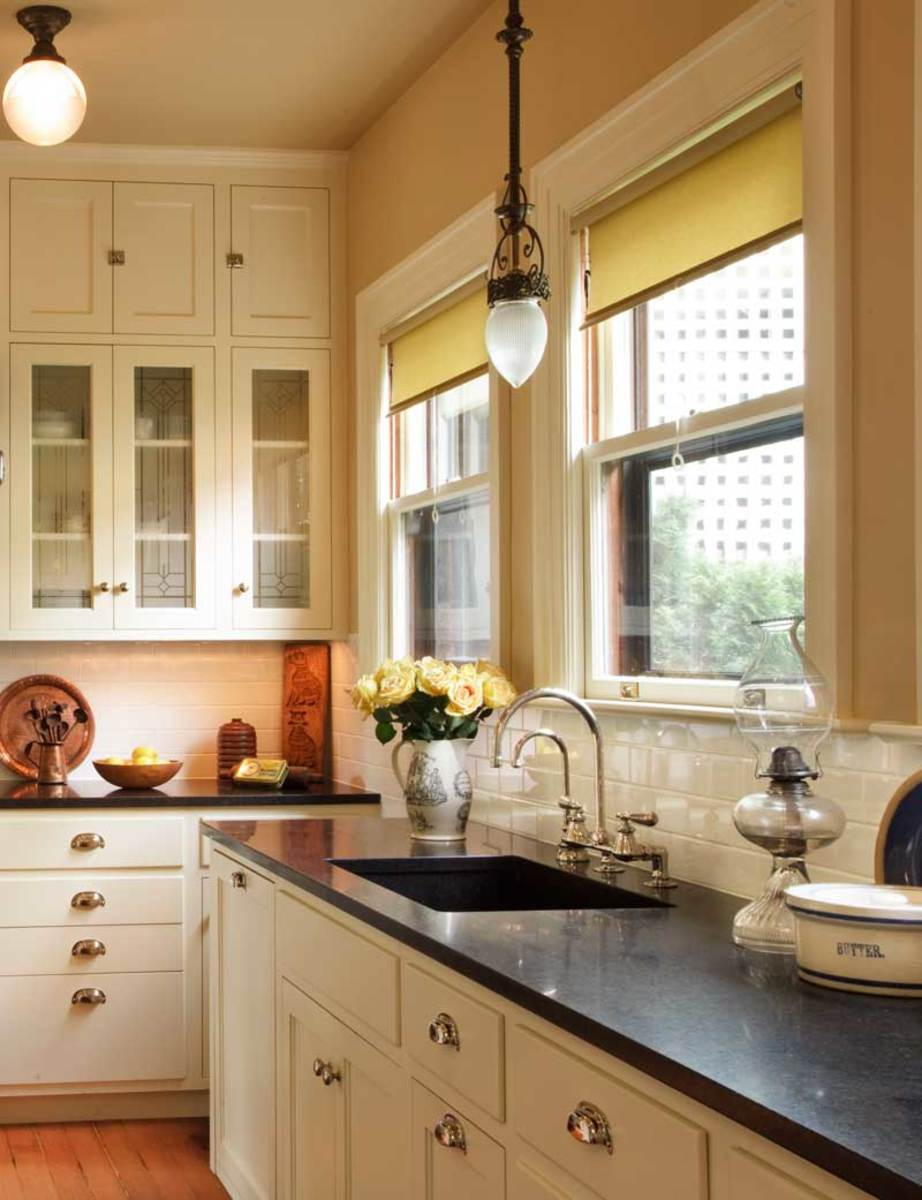 modern kitchen cabinets online concrete countertops the allure of arts & crafts kitchens baths - design for ...