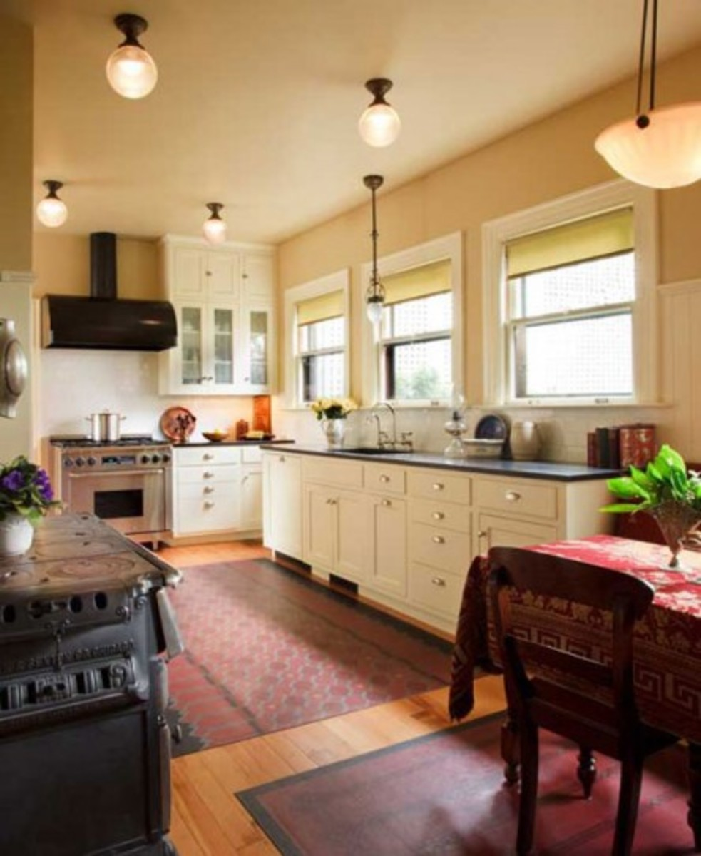 a classic 1920s kitchen design for
