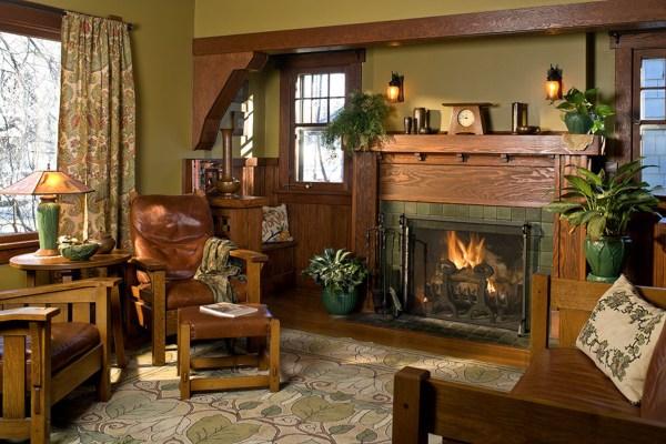 Interior Color Palettes Arts & Crafts Homes - Design