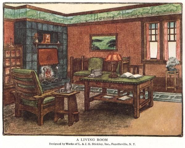 Archive Living Room 1912 - Design