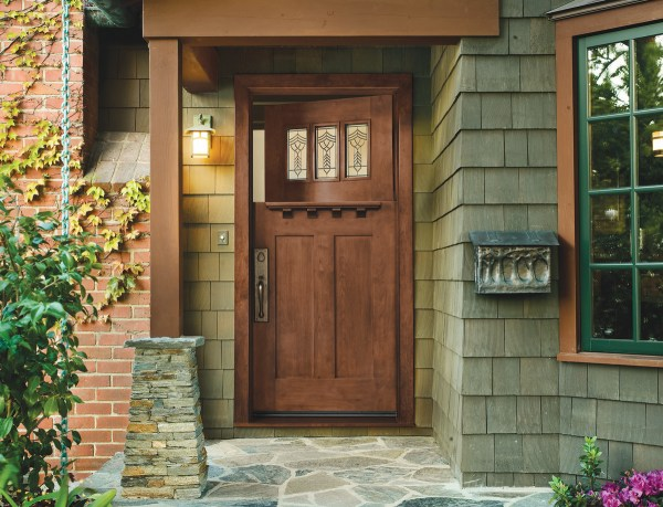Craftsman Doors Today - Design Arts & Crafts House
