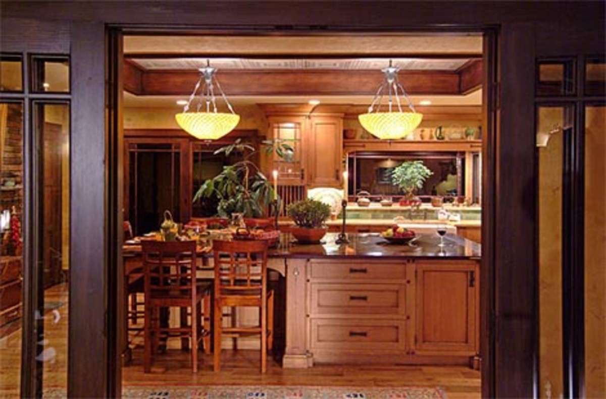 craftsman style kitchen hardware moen white faucet 3 arts and crafts kitchens  homes the revival
