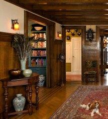 English Tudor Style Home Interior