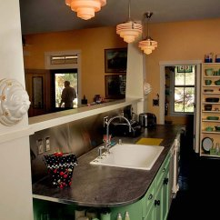 Arts And Crafts Kitchen Lighting Cabinet Door Replacement Lowes To Accent Define Homes
