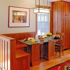 Arts And Crafts Kitchen Lighting Yellow Table To Accent Define Homes