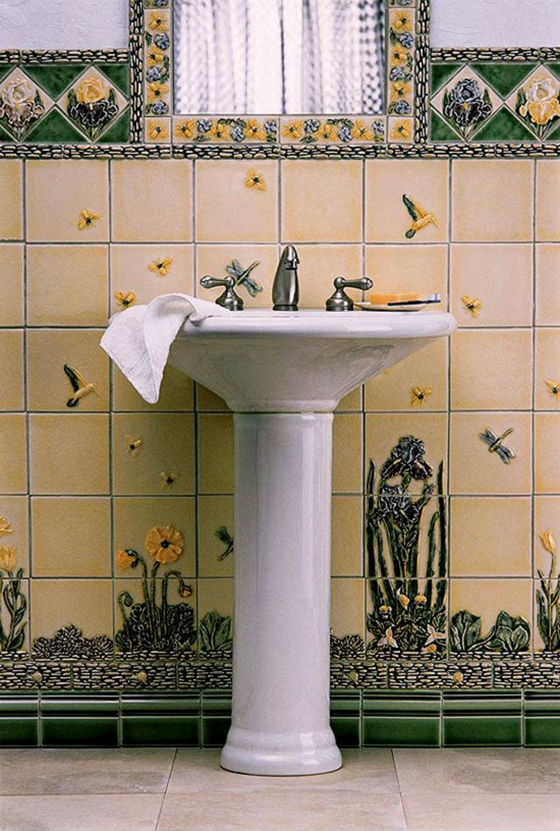 Merveilleux Arts And Crafts Bathroom Tile