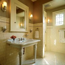 Arts and Crafts Bathroom Tile