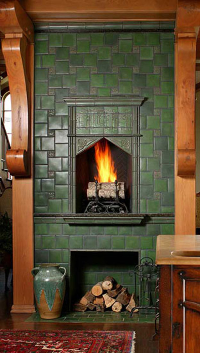 Sources for Arts  Crafts Tile  Arts  Crafts Homes and