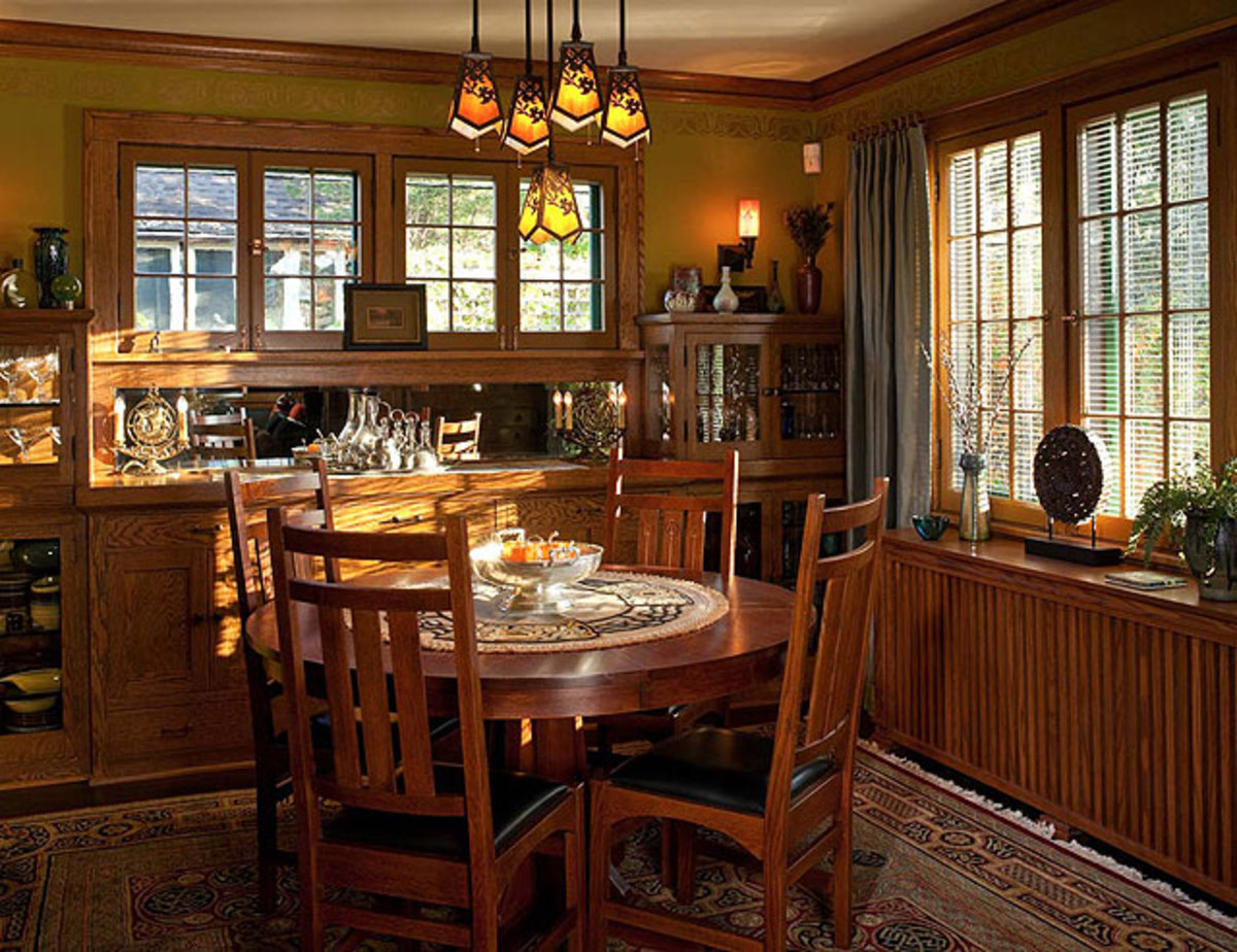 craftsman style chairs reception room arts and crafts furniture interior decorating