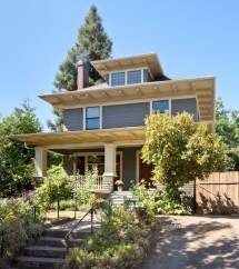American Foursquare House Remodel Craftsman