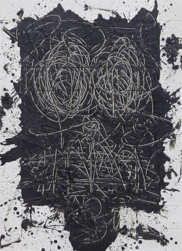 Rashid Johnson Untitled Drawing Anxious