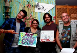 Hometown Show - Art Saves Lives International - Launch Night for the Bursledon House Project and Exhibition