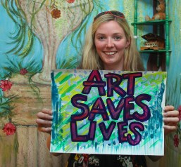Bex - Art Saves Lives International - Launch Night for the Bursledon House Project and Exhibition