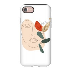 iPhone 7 Cases Lineart Face by DaDo ART ArtsCase