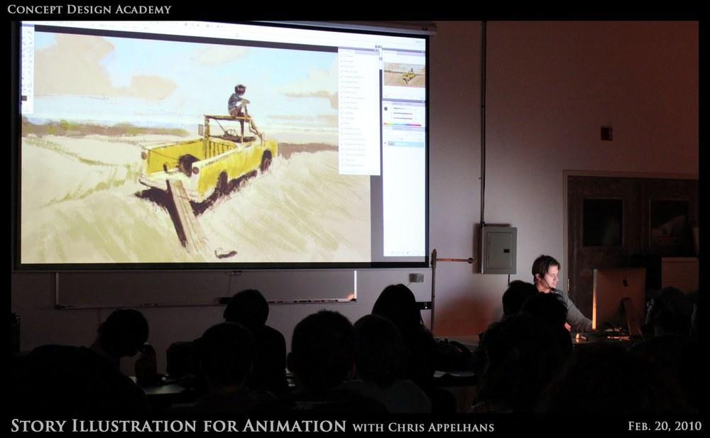 Story Illustration Workshop with Chris Appelhans
