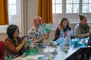 Ateliers Flowers of Change avec les animateurs et directeurs des centres de loisirs de la ville de Vitry-sur-Seine