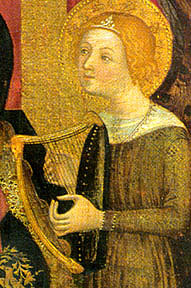 Harp Medieval  Early Music Instrument Database