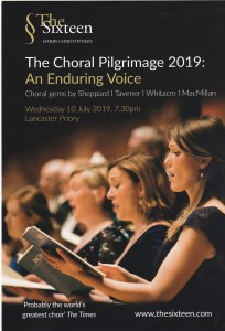 The Sixteen - Choral Pilgrimage 2019: An Enduring Voice @ Lancaster Priory