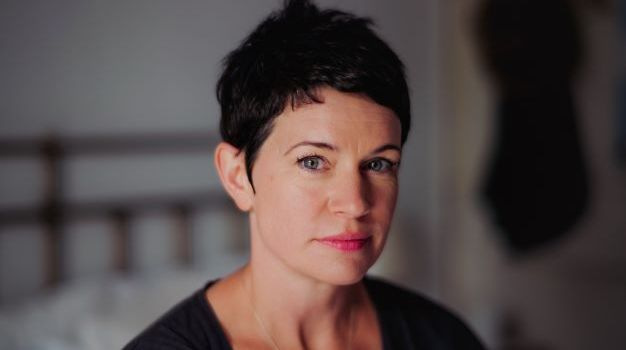 Portrait of Sarah Hall by Richard Thwaites