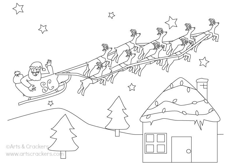 FREE Christmas Coloring Page Printout
