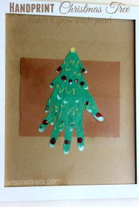 Growing Family Tree Craft for Christmas | Arts & Crackers
