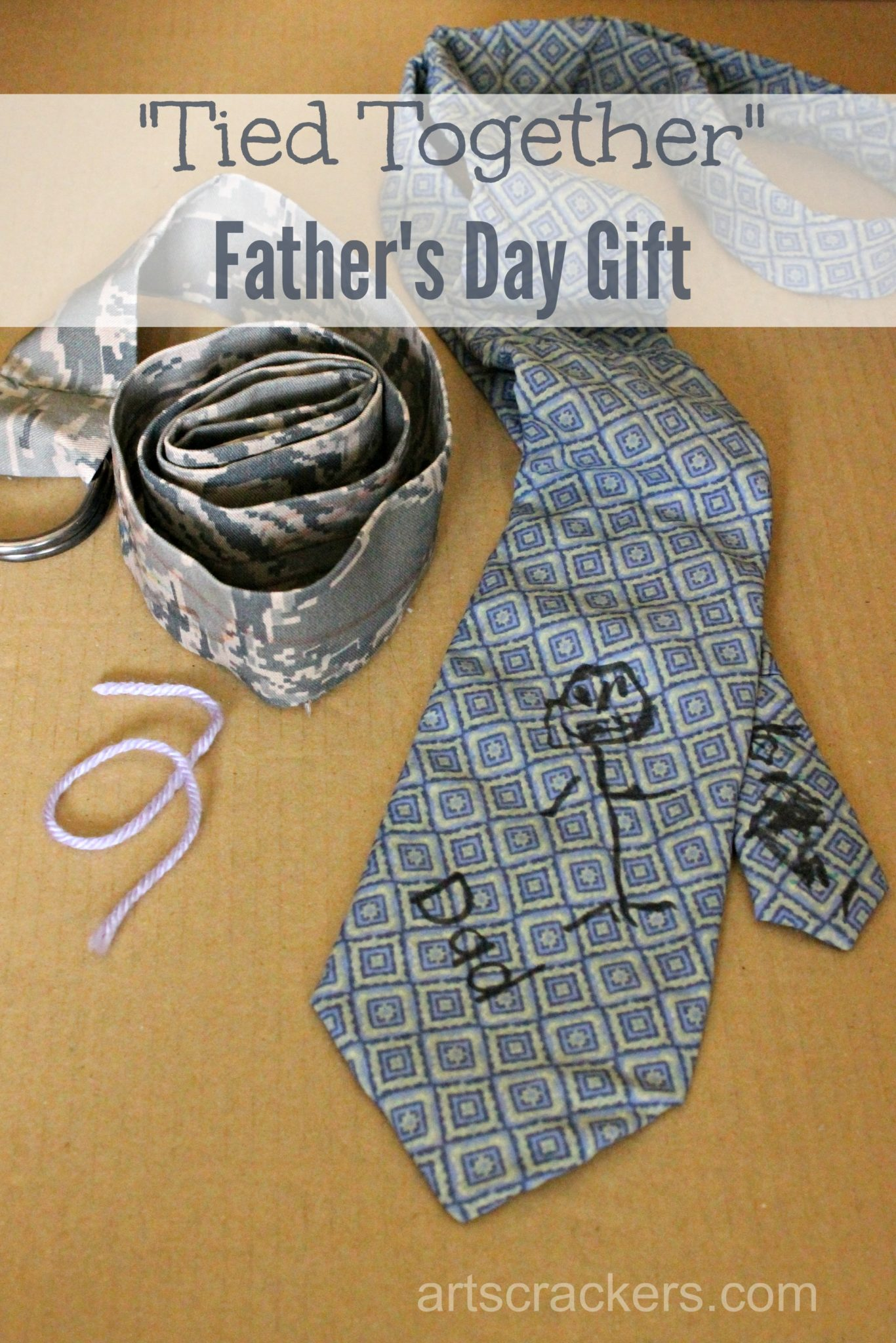 Sentimental Father S Day T Idea And Diy Necktie Tutorial