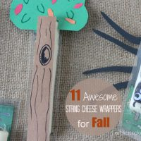 11 Fun String Cheese Wrappers for Fall
