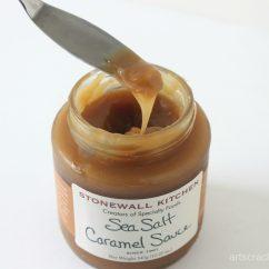 Stonewall Kitchen Dark Chocolate Sea Salt Caramel Sauce Portable Cart Arts And Crackers