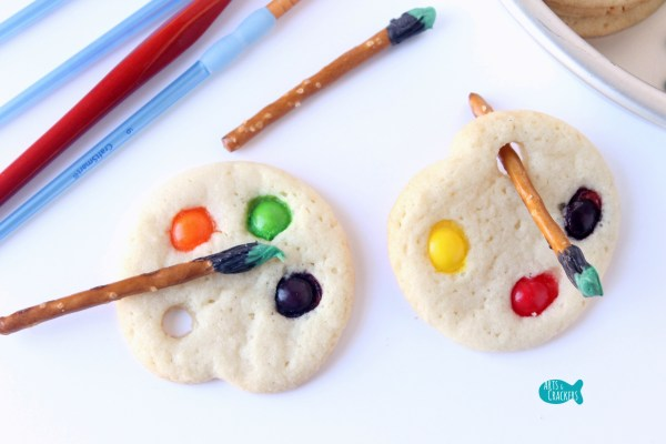 Artist Palette Sugar Cookies Edible Craft And Party Snack
