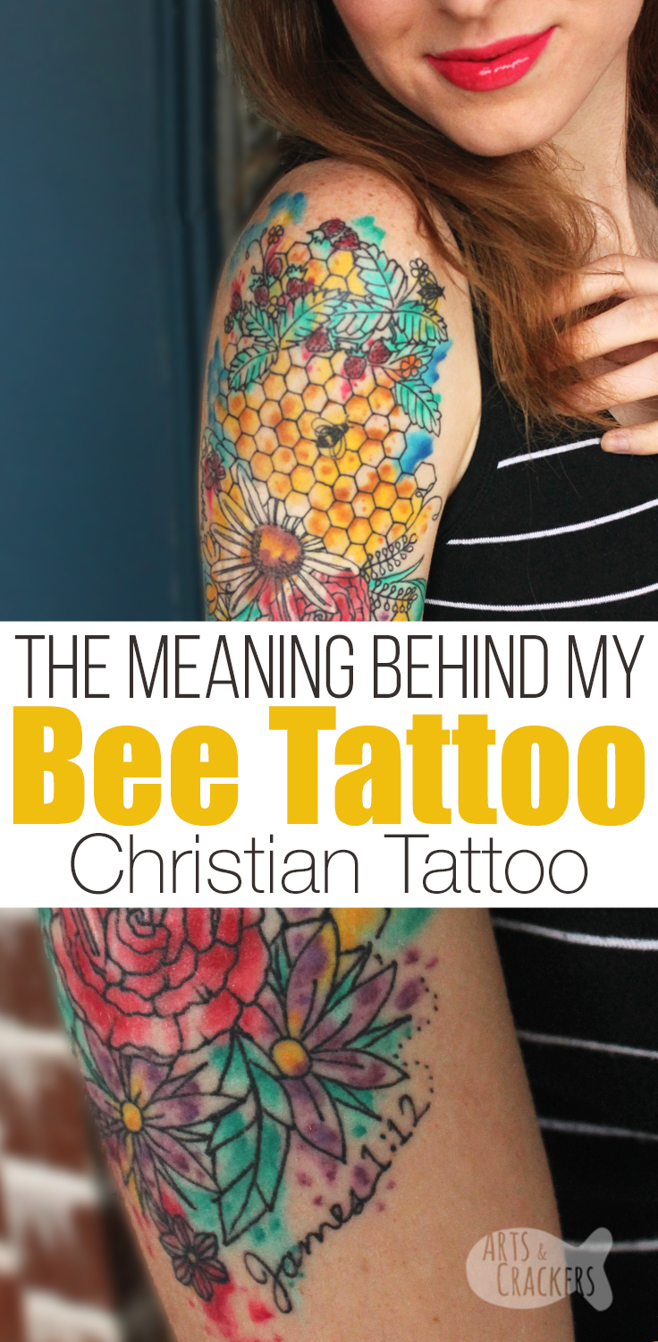 Honey Bee Tattoo Meaning : honey, tattoo, meaning, Inspired, Tattoo, Meaning, Encouraging, Affirmations