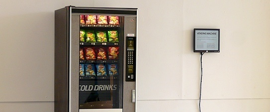 Ellie Harrison's Vending Machine at The Dukes, Lancaster
